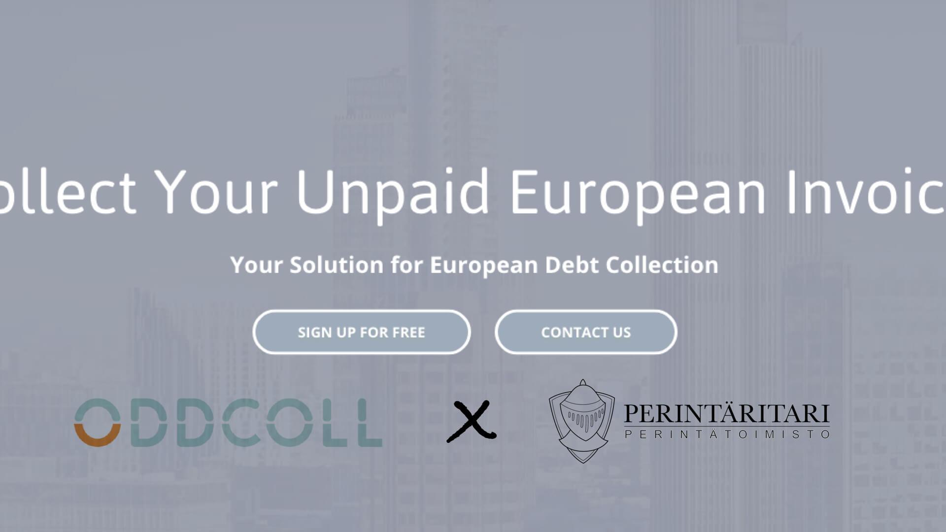 Perintäritari ja Oddcoll Euroopan laajuiseen yhteistyöhön
