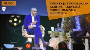 Perintä ja teknologia Nordic Business Forum 2018 NBF