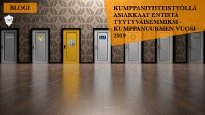 Perintäritari vuosi 2019 kumppanuusvuosi