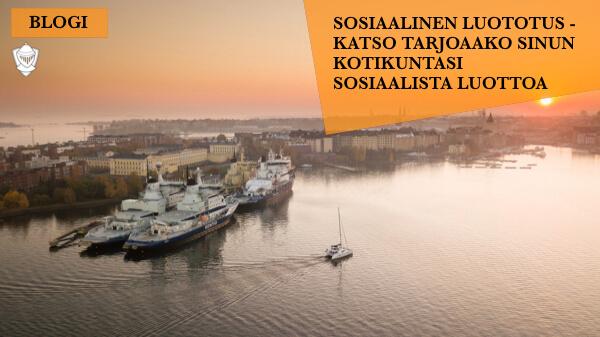 Sosiaalinen luototus Suomen kunnissa