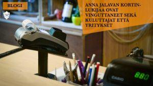 Anna Jalava maksupääte / kortinlukija