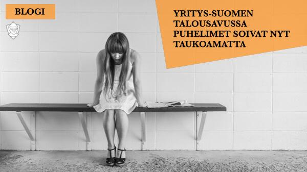 Yritys-Suomen Talousapu koronakriisi poikkeustila Perintäritari